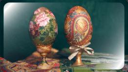 Яйца декупаж