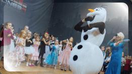 Холодное Сердце - детская анимаиця, Снеговик