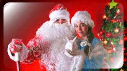 Дедушка Мороз и Снегурочка