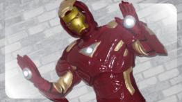 Железный Человек - аниматор в костюме