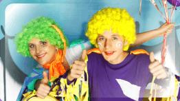 Клоуны Лелька и Клёпа