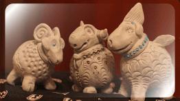 Глиняные скульптуры