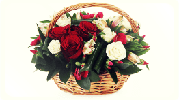Корзина цветов