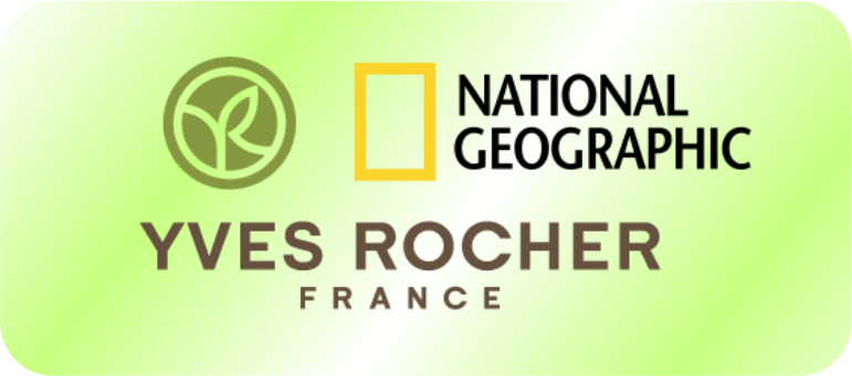 National Geographic, Yves Rocher logo