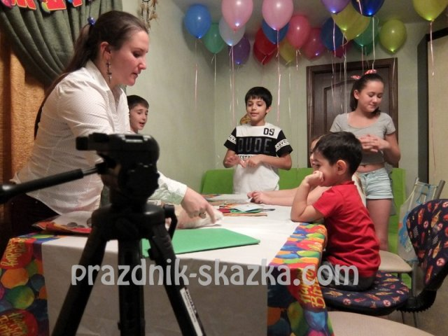 мастер-классы для детей