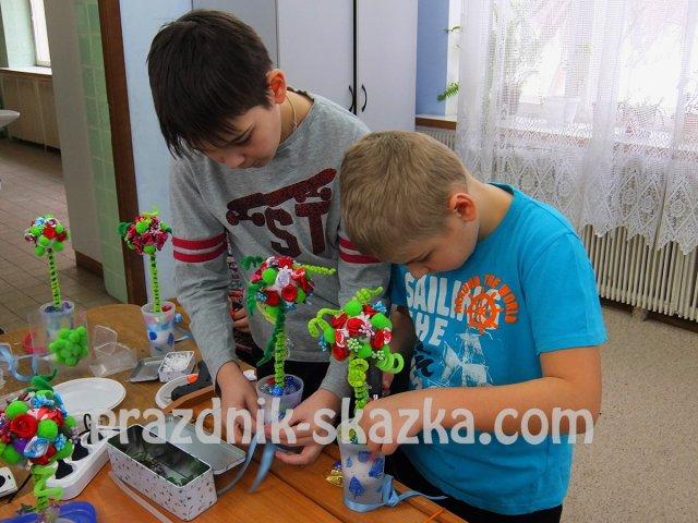 выездные мастер классы для детей