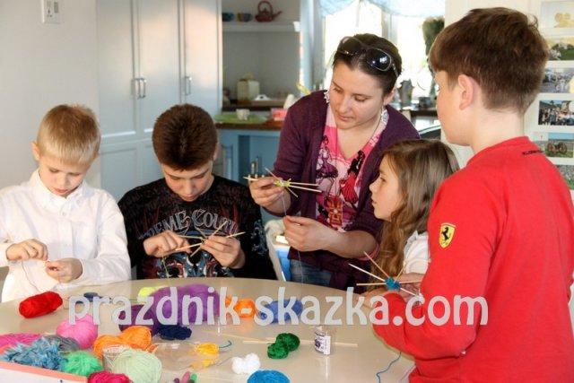 Самые необычные мастер классы для детей в Москве.